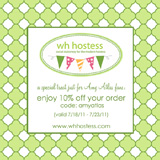 WH Hostess Giveaway & Discount