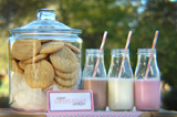 Cookies & Milk Guest Dessert Feature