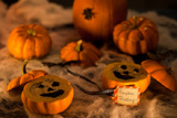 Easy Spooky Mini Pumpkin Pudding for Tori Spelling's EdiTORial