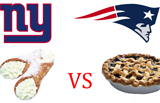 Quarter 2: Cannoli Vs. Blueberry Pie (Plus Wilton Football Giveaway!)