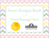 Sweet Designs Virtual Scavenger Hunt {With Giveaway of Eight KitchenAid Mixers!}