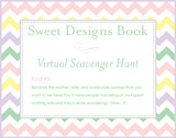 Sweet Designs Virtual Scavenger Hunt: Clue #5