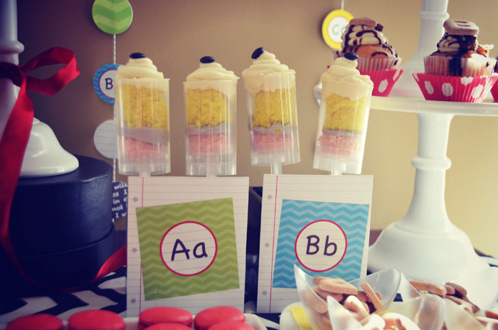 Back to School Pencil Push Pops