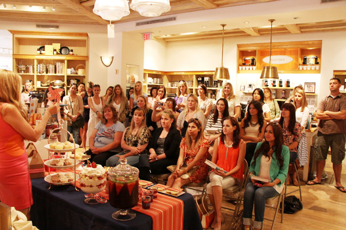 Williams Sonoma Amy Atlas Sweet Designs Book Tour Beverly Hills