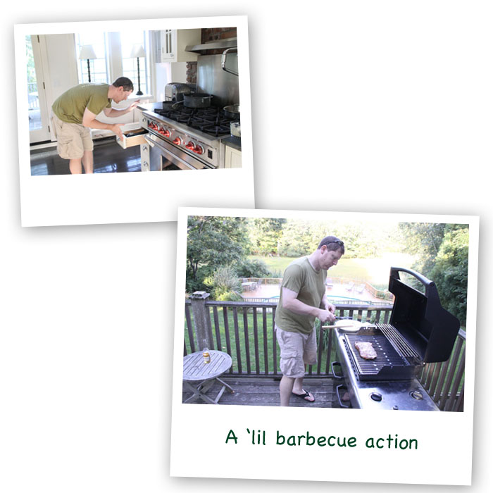 Vacation Pictures.  Summer Barbecuing