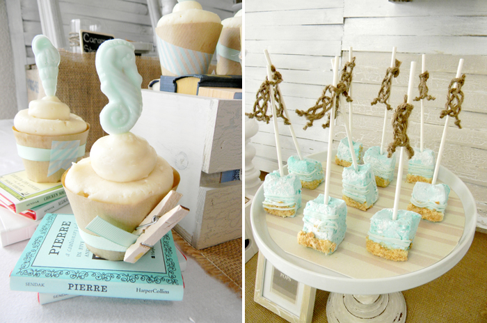 Beach House Dessert Table