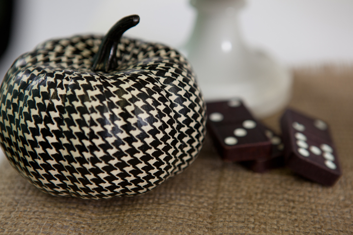 Houndstooth Halloween Inspiration and desserts