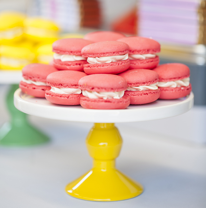 Pantone Art Party for Kids Macarons