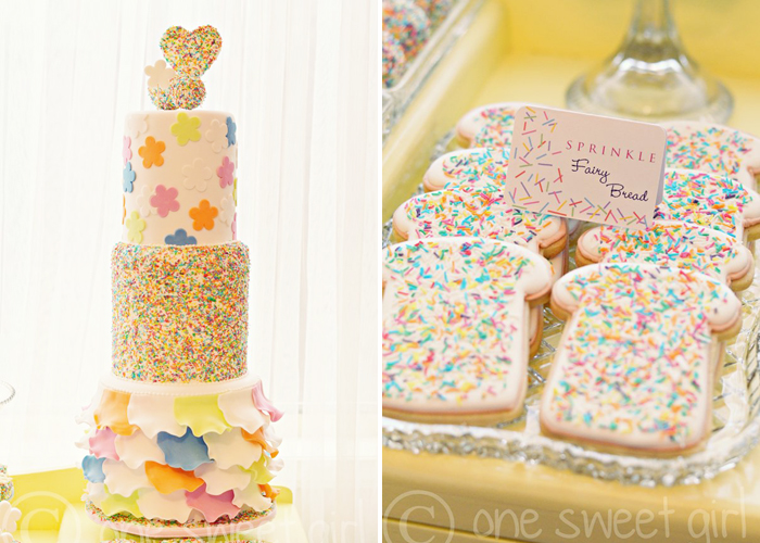 Fantastic Sprinkle Cake and Fairy Bread