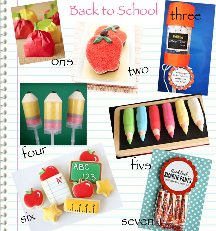 Great Back to School Crafts and Sweets