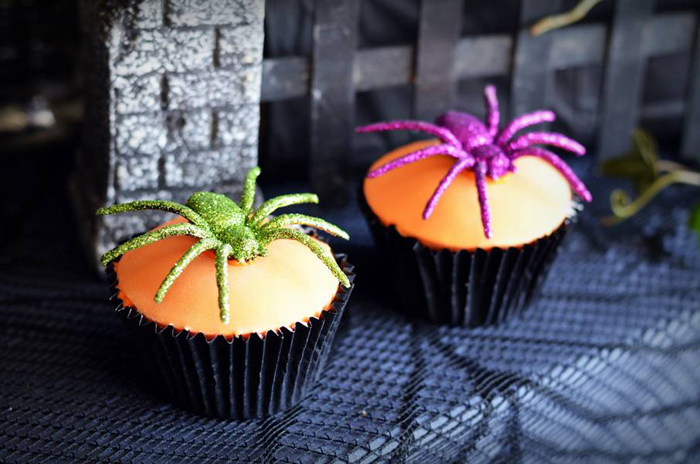 Halloween Party Ideas Spider cupcakes