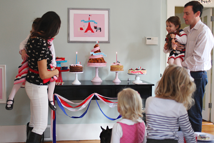 French Themed Party Details