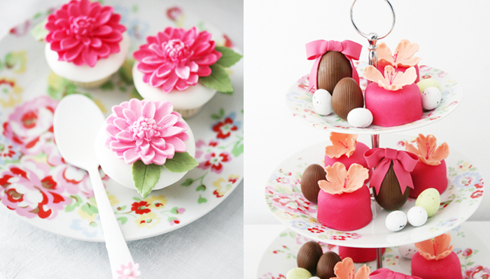Floral Spring Inspired Dessert Table