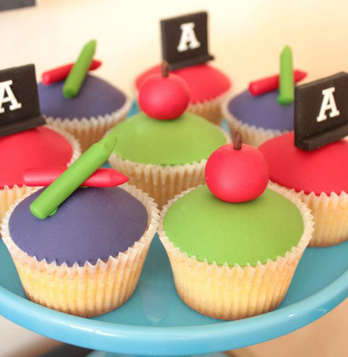 Back To School Party Ideas | Cupcakes