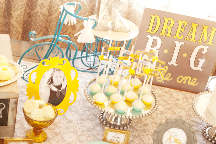 Bicycle Inspired Gender Reveal party