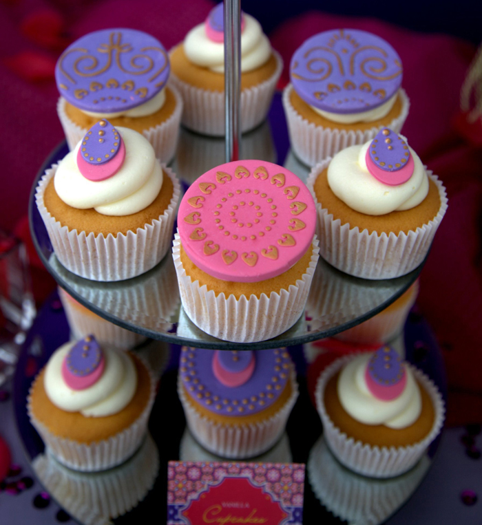 Moroccan Themed Party   Cupcakes