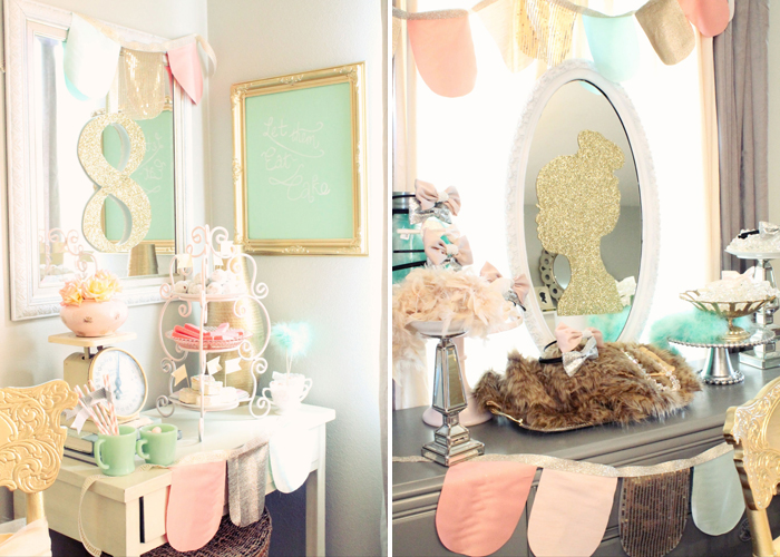 Pretty Pastel Dinner Party