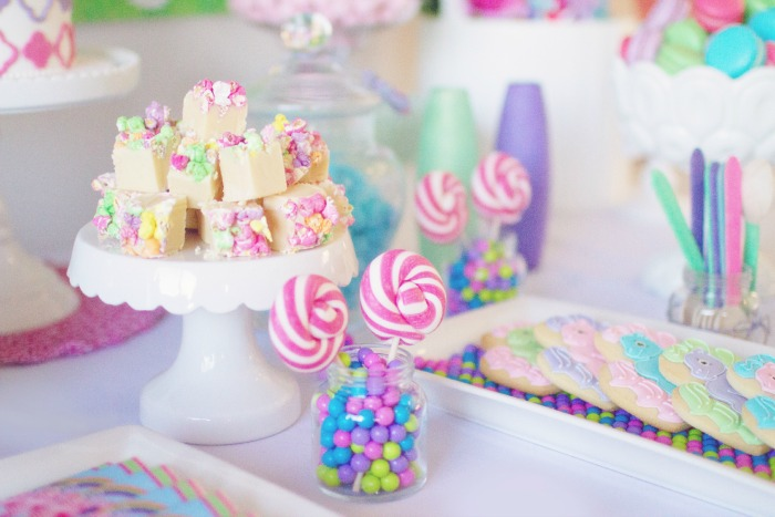 My Little Pony Party for Girls | Rice Krispie Treats