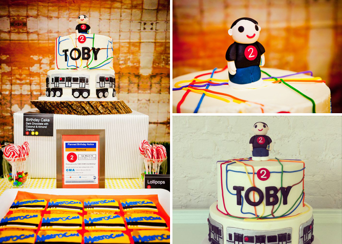 Subway Inspired Party for Boys