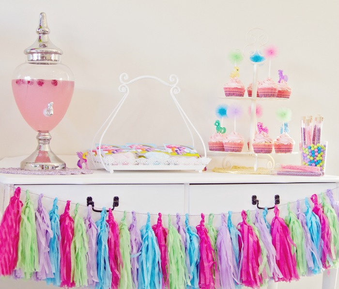 My Little Pony Party for Girls | Tassel Garland