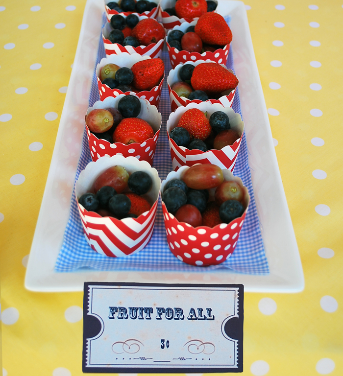 Birthday Party for Girls | Fruit Cups