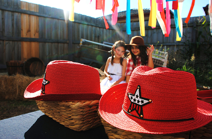 Red Cowboy Hats