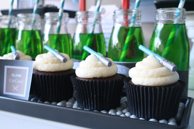 Star Wars Themed party   CUPCAKES