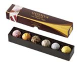Great Finds: GODIVA Truffle Flights
