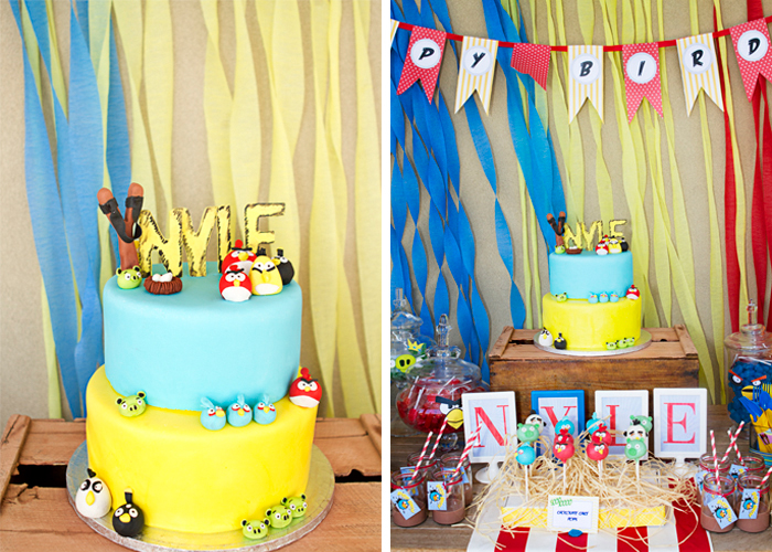 Angry Birds Birthday Party | Birthday Cake
