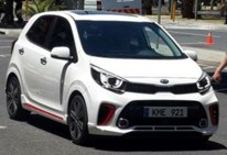 2017 Kia Picanto On The Street In South Africa (Custom)