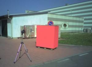 Indagini su manufatto con coefficiente di assorbimento solare medio con termocamera fissa 28/03/2012