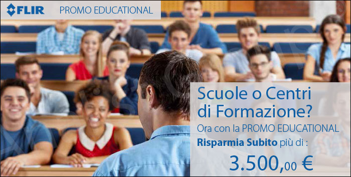 Offerta FLIR Educational riservata a Scuole e centri di Formazione