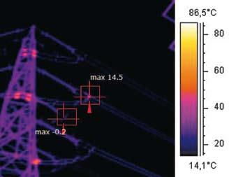 Immagine realizzata con una risoluzione di 120x120 pixel e una sensibilità termica <100 mK.