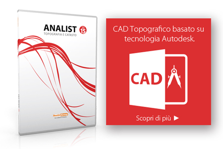Scopri Analist  Software Topografia e Catasto