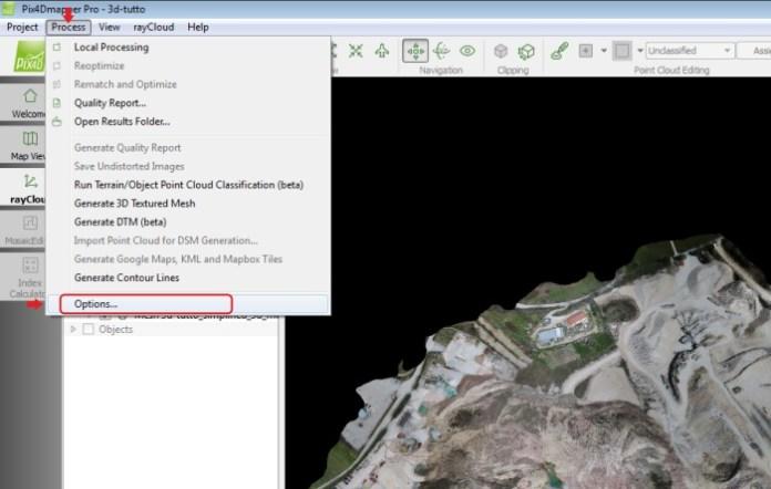 pix4d-menu-opzioni-ortofoto