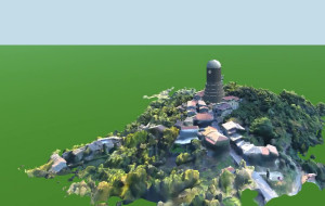 Tower Observatory Model with OneRay-RT