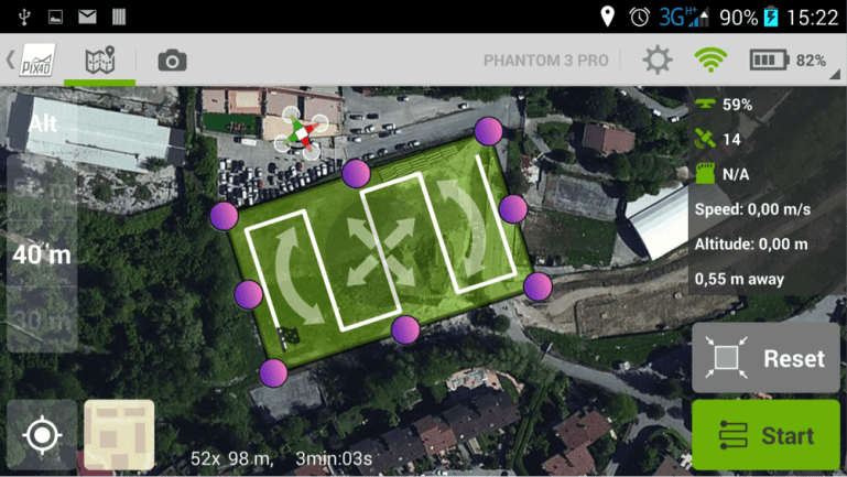 Pix4dmapper Capture APP