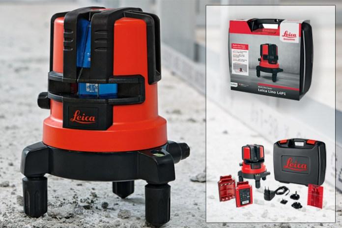 Nuova Livella Laser Leica Lino L4P1