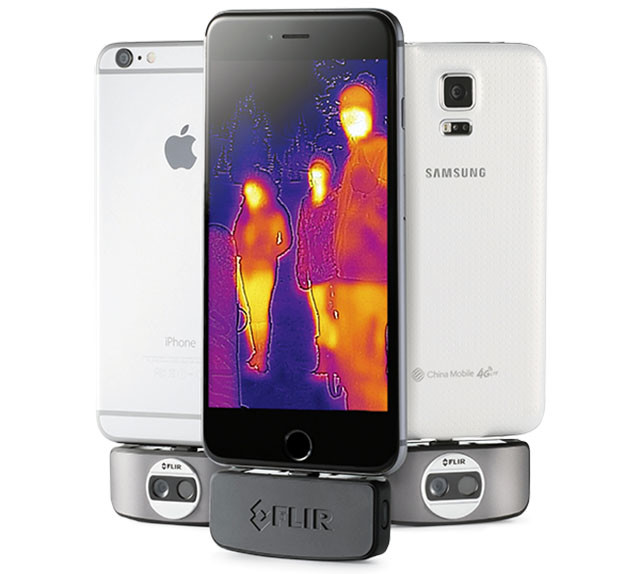 FLIR ONE Thermal Camera for iOS and Android