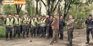 Drone polizia serba