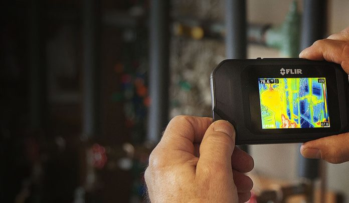 Termocamera FLIR C3 con MSX