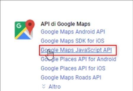 Google Key API
