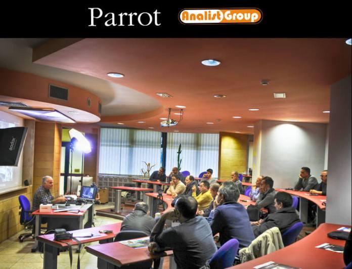 Presentazione Parrot - Analist Group 13 Novembre 2017