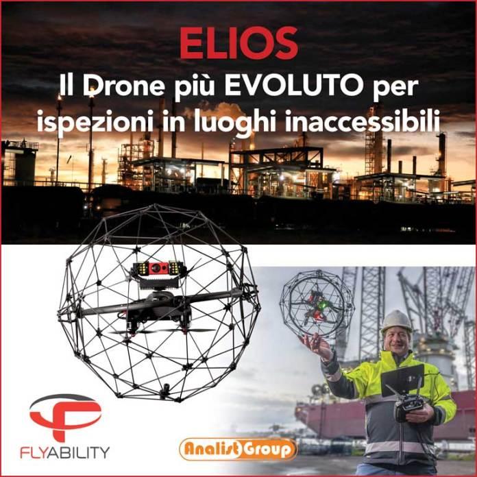 Droni sicuri per luoghi inaccessibili