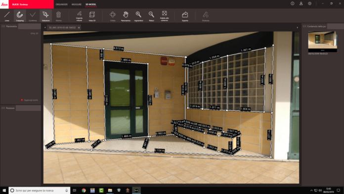 LeicaBLK3D_misure porta