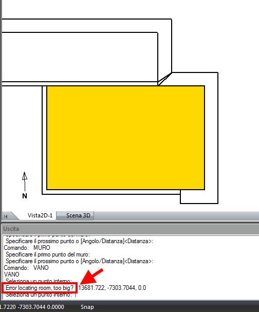TermiPlan error locating room