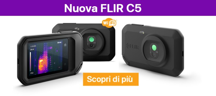 Nuova FLIR C5