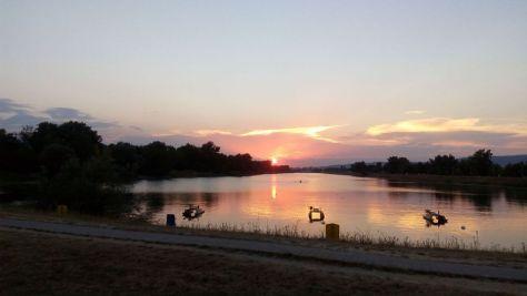 Romantic Jarun Lake adds to the charm of Zagreb