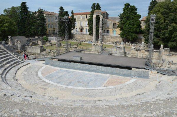 The Roman Theatre of Arles © Carole Raddato