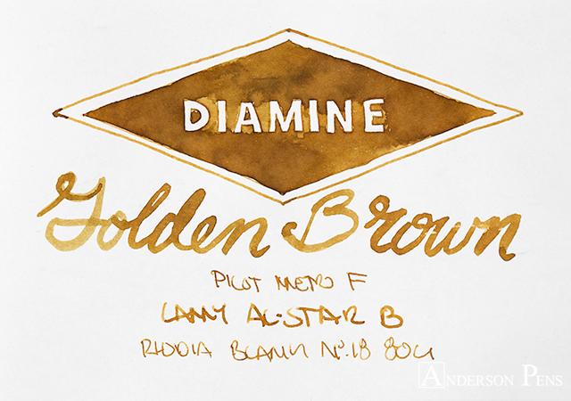 thINKthursday - Diamine Golden Brown